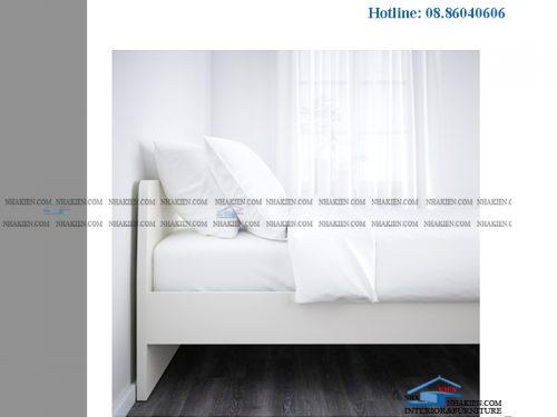 Giường đơn giãn không hộc kéo