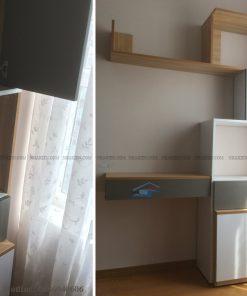 Thi công nội thất căn hộ 2 phòng ngủ Sky center