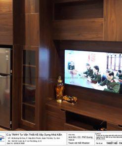 Thiết kế và thi công căn hộ Studo Sky center Tân Bình