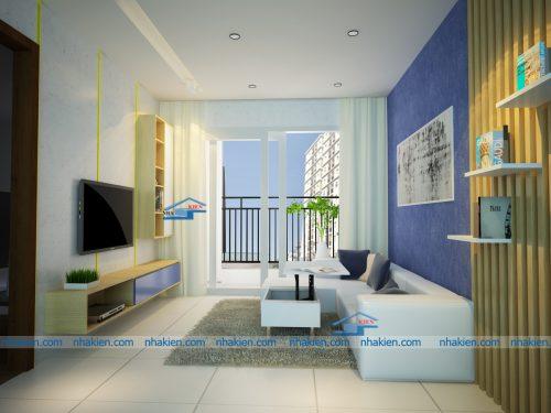 Mẫu thiết kế nội thất căn hộ Cityland park hill