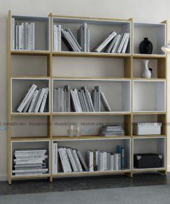 Kệ sách đứng để sách, đồ trang trí có kích thước lớn
