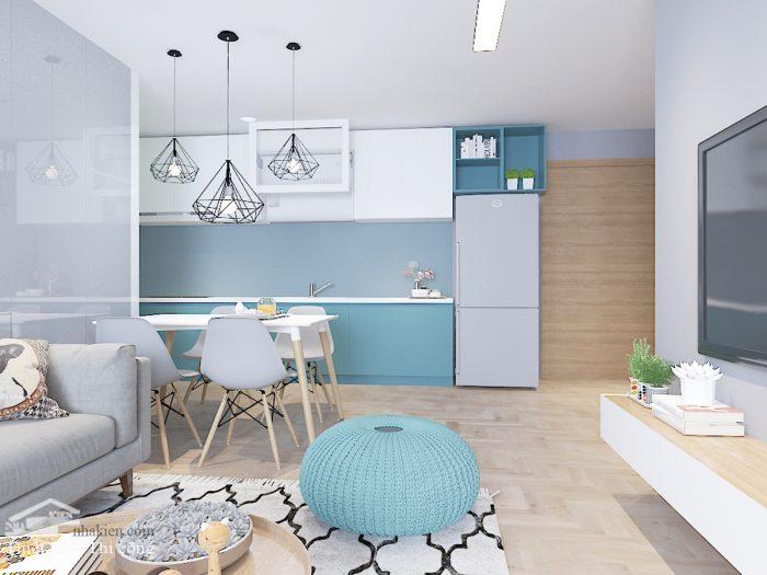 Thiết kế nội thất chung cư masteri an phú