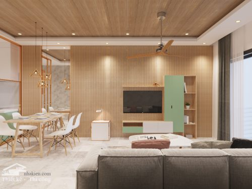 Thiết kế nội thất chung cư Sunrise city view