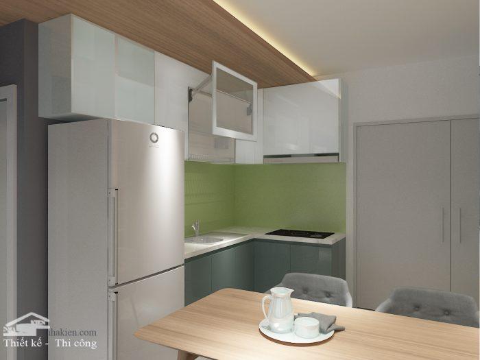 Thiết kế Tủ bếp chung cư Saigon Mia