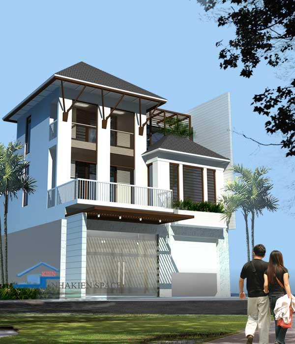 Thiết kế nhà đẹp, biệt thự phố